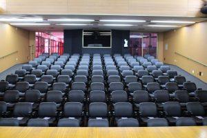 Auditório SEDE Capacidade para até 120 pessoas.